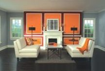 Lovely Living Rooms / Painting ideas and DIY projects to make your living room lovely