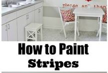 Easy Tips for the DIY Painter / We are compiling simple and easy tips and tricks for the painter starting out