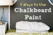 DIY Projects | Playing with Paint / Our collection of DIY projects involving playing with paint