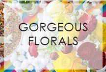 Gorgeous Florals / Gorgeous florals to inspire your events / by Not Just A Mommy
