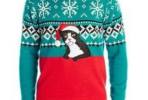 Kitty Cat Christmas and Holiday Ideas / A collection of Christmas decor, ornaments, clothing and design, with a particular focus on cats.