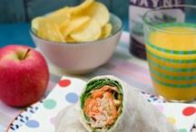 Kids Lunchbox (veggie & vegan / Need ideas for your kids lunchbox? Are school dinners lacking? Make a packed lunch for your child and make sure they have a tasty but nutritious lunch they will actually eat. Forget school lunches. Sandwiches, wraps, sausage rolls, salads, pasta, pies, snacks and drinks.