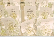 I Love Paper / just love paper products in a wedding from save the dates to programs, to menu cards.