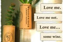 Wine DIY / Do It Yourself crafts and tips for those leftover Woodbridge by Robert Mondavi wine corks and bottles.