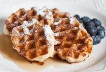 Waffles / A waffle is like a pancake with a syrup trap.