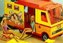 Barbie Camping Party / 1972 camping with Barbie birthday