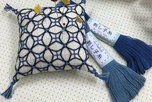 Sashiko Hitomezashi (one stitch)