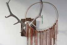 Dream Catchers / 'Rose Versus Gem' one of a kind dreamcatchers. Primarily made using recycled fabrics, crystals, NZ wool, feathers and egyptian cotton. Head over to our Etsy page! https://www.etsy.com/nz/shop/RoseVersusGem?ref=hdr_shop_menu