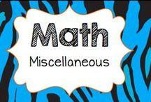 Math Misc...