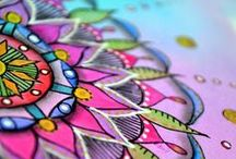 .: MANDALAS :. / Keep your mind and soul healthy with mandalas. These pictures aim to colorfully represent peace, love and happiness <3.