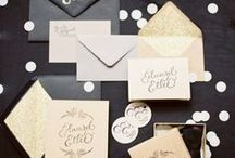 wedding | paper goods / by Kyle & Vanessa Photography