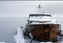 Boot, Yacht, Schiff, Motorboot, Segelboot / travel road sea ocean boats yachts / by Nelie Rednow