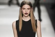 mUp+hair / make-up lipstick eye shadow hair styling color / by Nelie Rednow