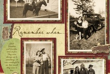 Heritage scrapbooking / Ideas and inspirations for traditional scrapbooking heritage photos