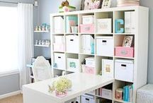 Craft room/ Game room / by Jennifer White