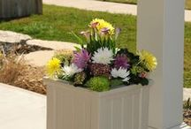 Outdoor Planters / Discover a unique selection of outdoor planters, pots & boxes for your front porch, patio or any outdoor space.