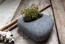 Stone Planters / A wide selection of refined stone planters that will add natural beauty to your indoor & outdoor spaces.