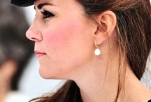 Catherine Elizabeth / HRH The Duchess of Cambridge, Countess of Strathearn and Lady Carrickfergus / by christina