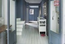 I Heart...White painted floorboards / I love white painted floorboards