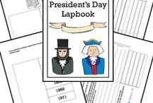 Free Presidents Day Homeschool Study / by The Encouraging Homeschool Mom
