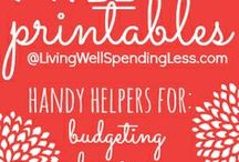 Free Organizational Printables, Planners, and More / by Jamerrill Stewart