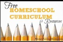 Free Homeschool Curriculum / Free Online Homeschool Curriculum / by Jamerrill Stewart