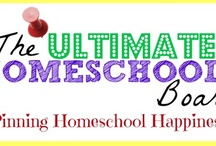 Ultimate Homeschool Board / Here you will find the best homeschool resources on the internet - plus homeschooling encouragement, creative ideas for homeschool, and more. PINNERS: You may pin/repin any content that is helpful for homeschool families. Please don't pin/repin the same pin multiple times a day. Daily Pin MAX is 5 pins per day - thanks!  / by Jamerrill Stewart
