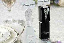 Detalii de nunta / Wedding favors, bubbles and accesories.