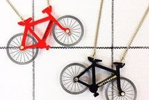 BICYCLE JEWELLERY / Jewellery and accessories that celebrate cycling. Bling for bicycle lovers.