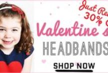 Valentine's Day Love! / Valentine's is the most sweet, romantic, and adorable to celebrate with baby girl! Get her all dressed up and send out cute valentines too all your family and friends : )