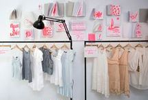 POP UP SHOP / How to turn an empty space into a rad pop up shop. Beautifully curated retail spaces