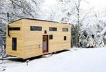 TINY HOUSE DESIGNS / Living on the road. Our ideal tiny house, caravan and mobile home havens.