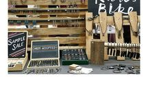 PALLET DISPLAYS / Pallet display ideas for a new jewellery point of sale and craft stall