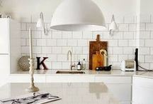 kitchen white / by crear style