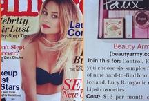 Lipsi Lovin' / Lipsi Cosmetics Gets Press / by Lipsi Cosmetics