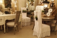 Dining chair slipcover ideas