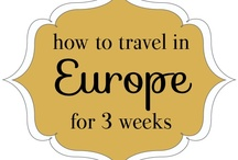 Backpack Eurotrip / Planning for my backpacking trip through Europe after graduation