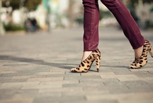 Lil' Bit o' Leopard / Gimme some leopard, and I'm a happy girl! / by Leslie Kane