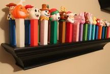"""PEZ / """"Some day soon I'll make you mine, then I'll have CANDY all the time. I want candy."""" BOW WOW WOW, I Want Candy"""