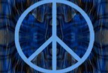Pretty peace signs