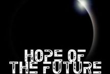Book - Hope of the Future / My novel and the inspiration I use for it. Whether it be images of people, landscapes, whatevs.