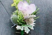 Buttonholes and corsages for weddings