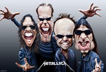 \m/ METALLICA \m/ / Loved since I was a little kid \m/ \m/ / by Ashley Orlando