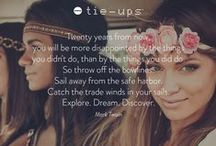 #Quotes / #Quotes about #travel and #dreaming in pure #TieUpsStyle