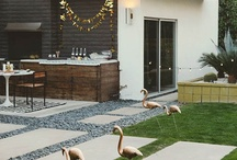 Garden + outdoor areas / by Sheree Hannah