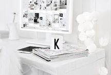 workspace / by Victoria Halford