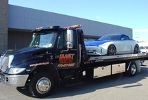 Towing / Imagine a world without tow trucks. Accident clean-up would take so much longer!