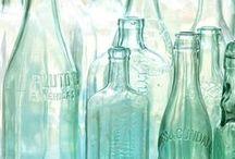 Bottle sculpture / by Jen