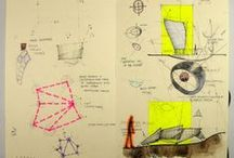 Design development sketching, models & ideas