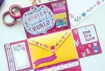 Papercrafts - Stationery, Envelopes... / Stationery printables and envelope templates